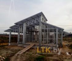 Каркас частного дома 104 м.кв.— 01
