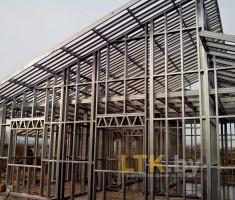 Каркас частного дома 104 м.кв.— 04