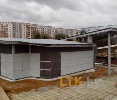 Павильон ЖД-станции— 03
