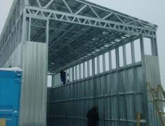 Строительство СТО под длиномер— 05