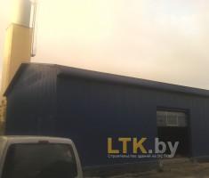 Строительство склада из ЛСТК— 02