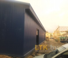 Строительство склада из ЛСТК— 03