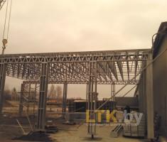 Строительство склада из ЛСТК— 06