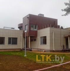 Здание Гольф-клуба на основе ЛСТК— 01