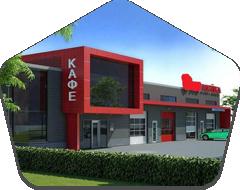 Строительство магазинов и кафе
