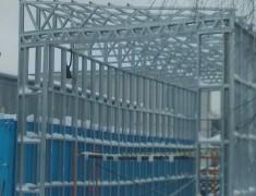 Строительство СТО под длиномер— 03