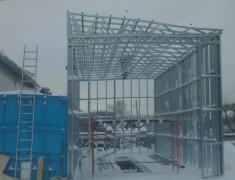 Строительство СТО под длиномер— 04