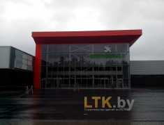 Строительство магазина БЕРЕЗКИ, г.Светлогорск— 05