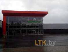 Строительство магазина БЕРЕЗКИ, г.Светлогорск— 06