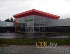 Строительство магазина БЕРЕЗКИ, г.Светлогорск— 09