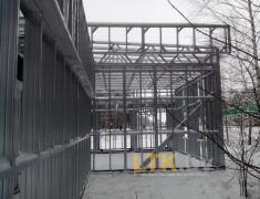 Строительство мини СТО и магазина— 011