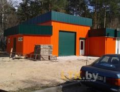 Строительство мини СТО и магазина— 012