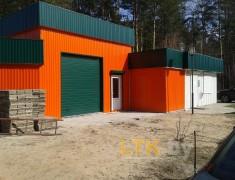 Строительство мини СТО и магазина— 013