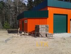 Строительство мини СТО и магазина— 014