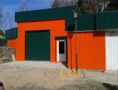 Строительство мини СТО и магазина— 016