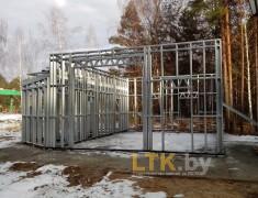 Строительство мини СТО и магазина— 02