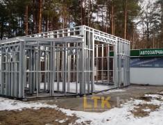 Строительство мини СТО и магазина— 05