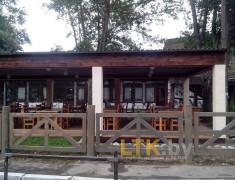 Навес летнего кафе Хуторок— 011