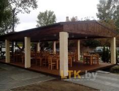 Навес летнего кафе Хуторок— 018