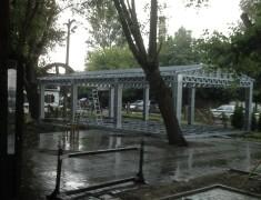 Навес летнего кафе Хуторок— 04