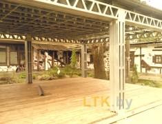 Навес летнего кафе Хуторок— 08