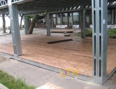 Навес летнего кафе Хуторок— 09